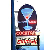 Route 66 - Williams, Arizona Bar Photographic Print