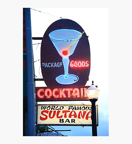 Route 66 - Williams, Arizona Bar Photographic Print