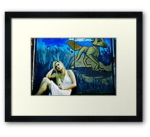 alone? Framed Print