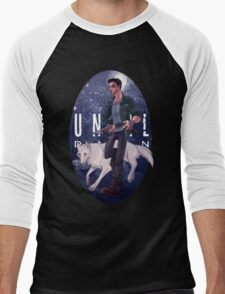 Mike and Wolf  Men's Baseball ¾ T-Shirt