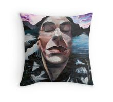 """In reality"" (from The Dreams series) Throw Pillow"