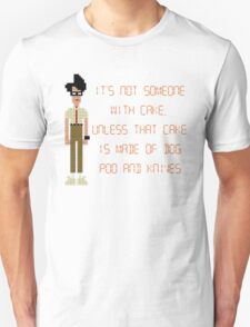 The IT Crowd – Dog Poo and Knives Cake T-Shirt