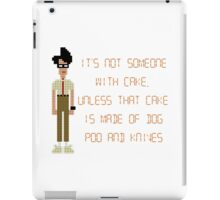 The IT Crowd – Dog Poo and Knives Cake iPad Case/Skin