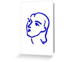 Matisse Ink Sketch Greeting Card