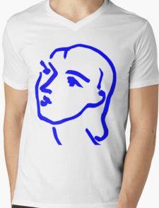 Matisse Ink Sketch Mens V-Neck T-Shirt