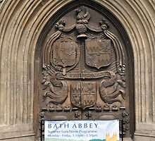 Bath Abbey, Bath, UK by James J. Ravenel, III