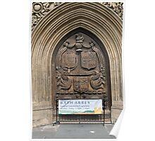 Bath Abbey, Bath, UK Poster