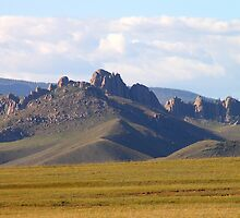 Dramatic Mongolia by Carole-Anne