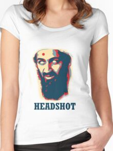 Headshot! Women's Fitted Scoop T-Shirt