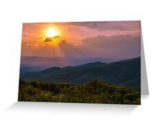 Evening Escape - Shenandoah National Park, Virginia Greeting Card