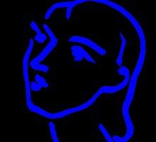 Matisse Ink Sketch (Black) by eeyebrows