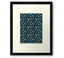 Micro-organisms Framed Print
