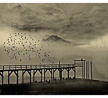 Mount Tahoma in Washington State... Photographic Print