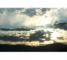 Rocky Mountain Sunrise Photographic Print