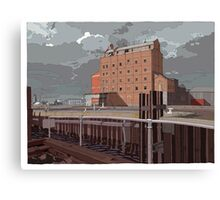Harts Mill west Canvas Print