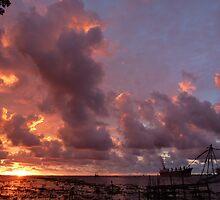 Kochi Sunset India by bm220