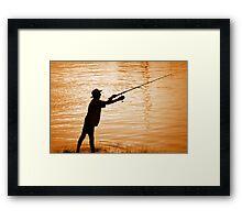 Gone Fishin'........ Framed Print