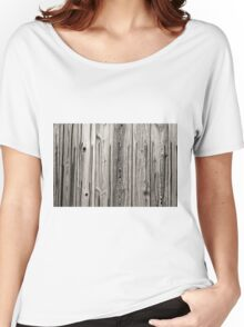 sepia wooden planks Women's Relaxed Fit T-Shirt