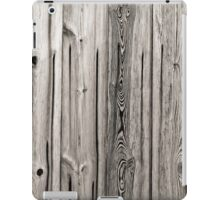 sepia wooden planks iPad Case/Skin
