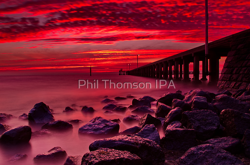 """Burgundy Morn."" by Phil Thomson IPA"