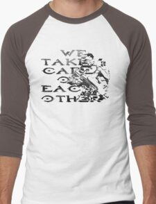 HALO Master Chief We Take Care of Each Other Men's Baseball ¾ T-Shirt