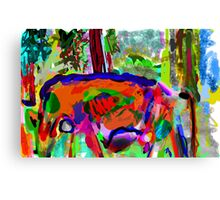 I Saw this Cow Canvas Print