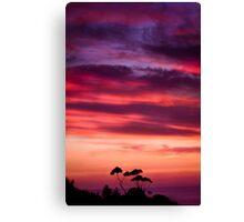 Sunrise Hill Canvas Print