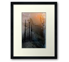 Theory of Flight - Crows Framed Print