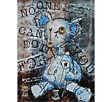 """No One Else Can Do It For You"" Screen Print Photographic Print"