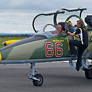 Going Flying, l-39 Jet Trainer, Tooradin, Australia. by johnrf