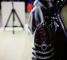 1950 Cadillac Taillight by WilliamJPhoto