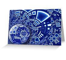 Interstellar City Greeting Card