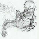 crazy prawnbeast by Ben Cresswell