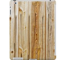 wooden planks pattern iPad Case/Skin