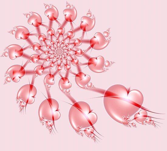 Pinwheel Valentine by Pam Blackstone