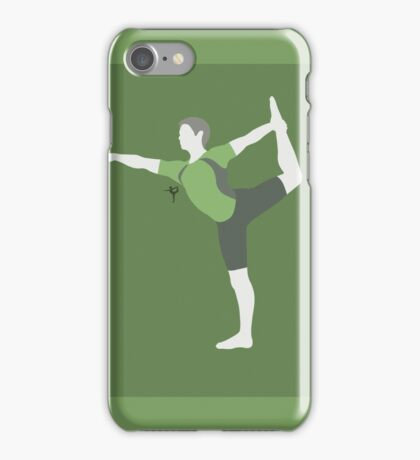 Wii Fit Trainer ♂ (Green) - Super Smash Bros. iPhone Case/Skin