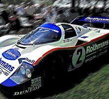 Le Mans Racer by TeaCee