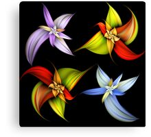 Lily Montage Canvas Print
