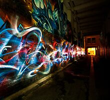 Dark Street Art by Michel Robert Cabrié