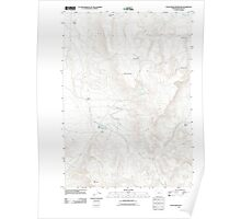 USGS Topo Map Oregon Star Creek Reservoir 20110819 TM Poster