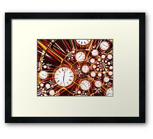 Time Flies When You're Having Fun Framed Print