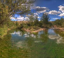 Turon Reflections # 3 - Hill End NSW - The HDR Experience by Philip Johnson