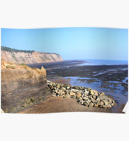 The Black, Lonely Beach, Robin Hood's Bay Poster