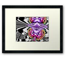 Seriously Leary Framed Print