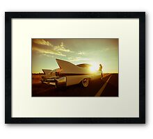 Lucinda and Dolores Framed Print