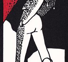 Matador.  Paso de pecho. by Edmund Hodges