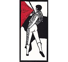 Matador.  Paso de pecho. Photographic Print