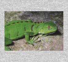 Juvenile Green Iguana Kids Tee