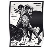 Matador. Derechazo pass Poster