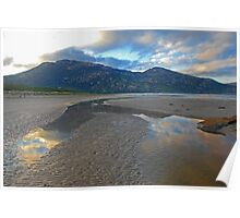 Tidal River Inlet, Wilsons Promontory Poster